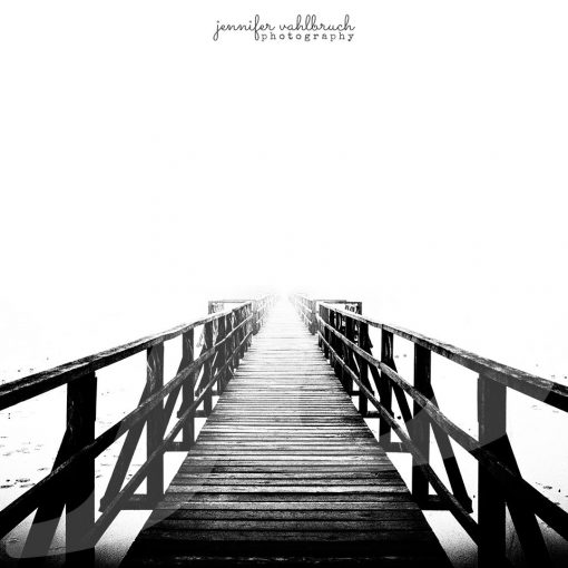 Foggy Path - Jennifer Vahlbruch