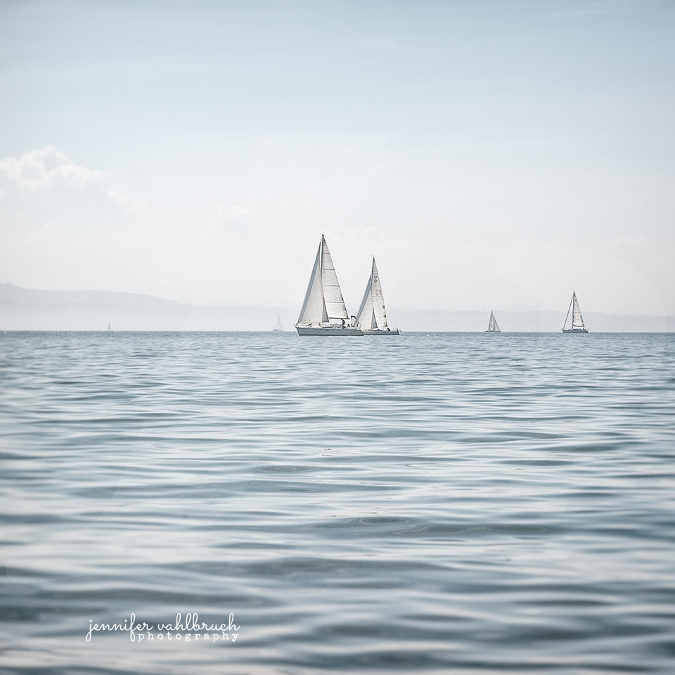 Sailing Lake Constance #1 - Jennifer Vahlbruch