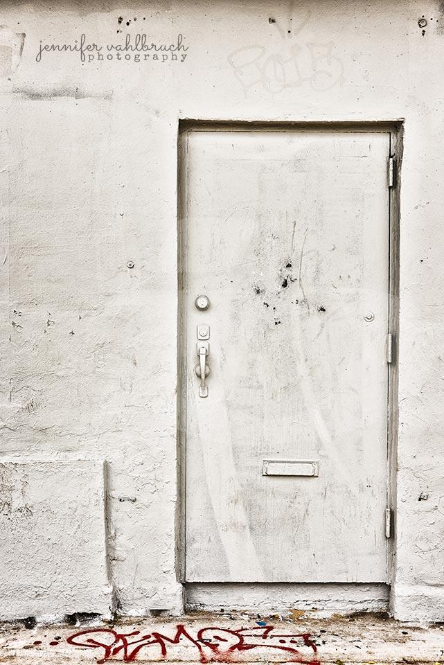 White Door - Jennifer Vahlbruch